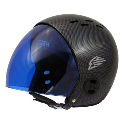 Gath helmet replacement retractable visor - blue