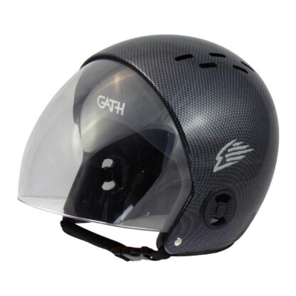 Gath helmet replacement retractable visor - clear