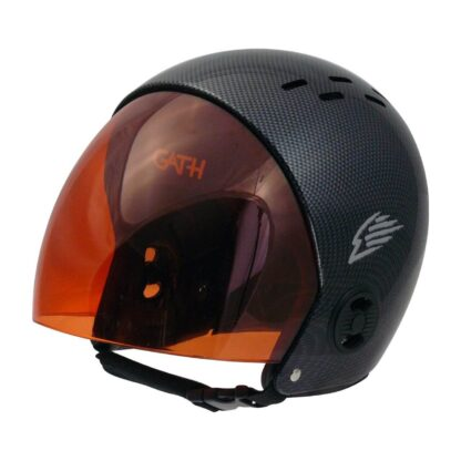 Gath helmet replacement retractable visor - rose red