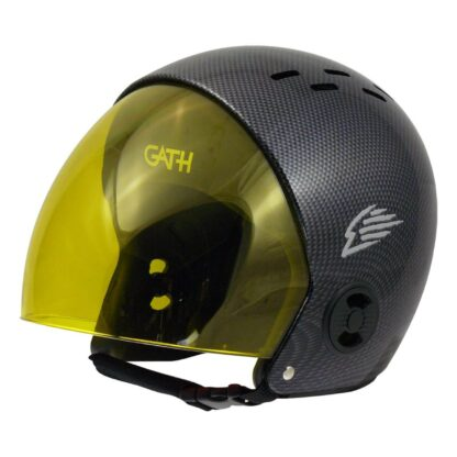 Gath helmet replacement retractable visor - yellow