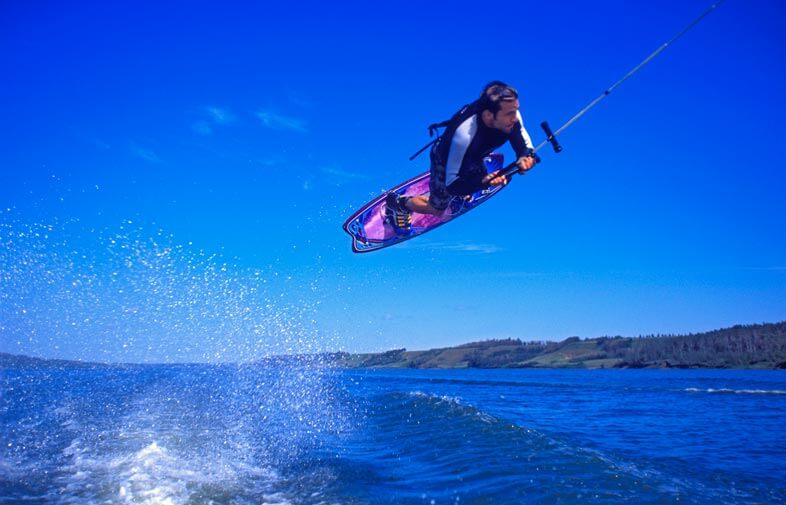Wakeboarding without wakeboard helmet